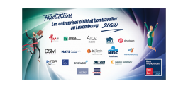 20 best workplaces in Luxembourg in 2020