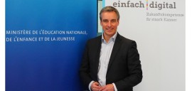 "Claude Meisch lance l'initiative ""einfach digital"""