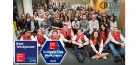 InTech obtient le Label Best Workplaces Europe® 2020