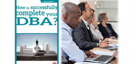 What motivates experienced managers to pursue a DBA programme?