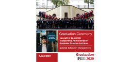 DBA graduation ceremony